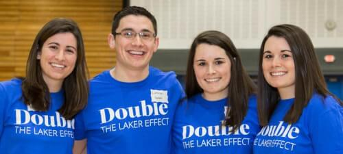 Read article Twins, multiples 'Double their Laker Effect'